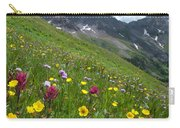 Colorado Wildflowers And Mountains Carry-all Pouch