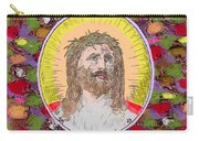 Colored Background Jesus Carry-all Pouch