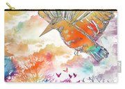 Colored Bird Carry-all Pouch