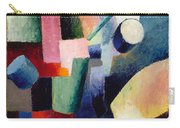 Colored Composition Of Forms   Carry-all Pouch