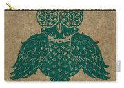 Colored Owl 4 Of 4  Carry-all Pouch