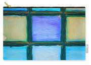 Colored Window Panes Carry-all Pouch