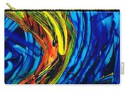 Colorful Abstract Art - Energy Flow 2 - By Sharon Cummings Carry-all Pouch