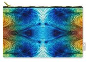 Colorful Abstract Art Pattern - Color Wheels - By Sharon Cummings Carry-all Pouch