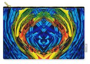 Colorful Abstract Art - Purrfection - By Sharon Cummings Carry-all Pouch