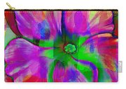 Colorful African Violet Carry-all Pouch
