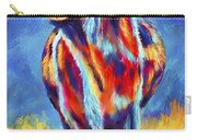 Colorful Angus Cow Carry-all Pouch