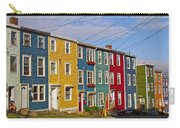 Colorful Apartment Buildings In Saint John's-nl Carry-all Pouch