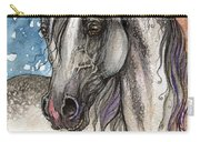 Colorful Arabian Horse  Carry-all Pouch