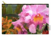 Colorful Assorted Cattleya Orchids Carry-all Pouch