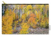 Colorful Autumn Forest In The Canyon Of Cottonwood Pass Carry-all Pouch