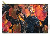 Colorful Autumn Grapes Carry-all Pouch