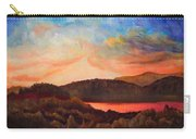 Colorful Autumn Sunset Carry-all Pouch