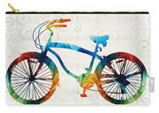 Colorful Bike Art - Free Spirit - By Sharon Cummings Carry-all Pouch