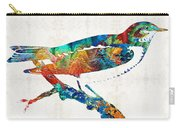 Colorful Bird Art - Sweet Song - By Sharon Cummings Carry-all Pouch