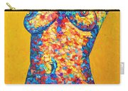 Colorful Bodyscape 1 Carry-all Pouch