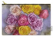 Colorful Bouquet Of Roses Carry-all Pouch