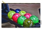 Colorful Bowling Balls Carry-all Pouch