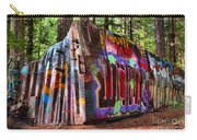 Colorful Box Car In The Forest Carry-all Pouch