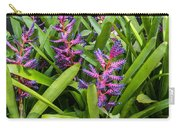 Colorful Bromeliad Carry-all Pouch