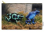 Colorful But Deadly Poison Dart Frogs Carry-all Pouch