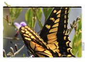 Colorful Butterfly Square Carry-all Pouch