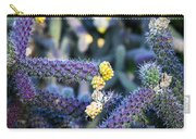 Colorful Cactus Red Purple Green Yellow Plant Fine Art Photography Print  Carry-all Pouch