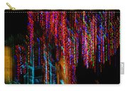 Colorful Christmas Streaks - Abstract Christmas Lights Series Carry-all Pouch