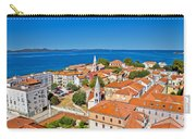 Colorful City Of Zadar Rooftops  Towers Carry-all Pouch