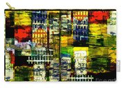 Colorful City Scene Carry-all Pouch