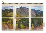 Colorful Colorado Rustic Window View Carry-all Pouch by James BO  Insogna