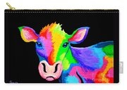 Colorful Cow-cow-a-bunga Carry-all Pouch