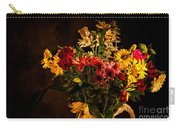 Colorful Cut Flowers In A Vase Carry-all Pouch