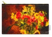 Colorful Cut Flowers - V2 Carry-all Pouch