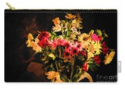 Colorful Cut Flowers - V3 Carry-all Pouch