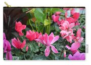 Colorful Cyclamen Carry-all Pouch