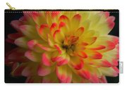 Colorful Dahlia Carry-all Pouch