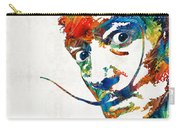 Colorful Dali Art By Sharon Cummings Carry-all Pouch