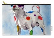 Colorful Dalmatian Chihuahua Carry-all Pouch