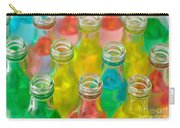 Colorful Drink Bottles Carry-all Pouch