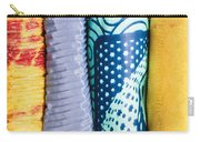 Colorful Fabrics Carry-all Pouch