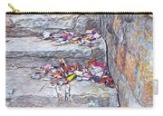 Colorful Fall Leaves Autumn Stone Steps Old Mentone Inn Alabama Carry-all Pouch