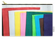 Colorful Felt Carry-all Pouch