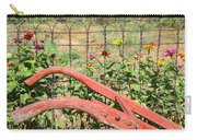 Colorful Fence Row Carry-all Pouch