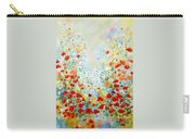 Colorful Field Of Poppies Carry-all Pouch