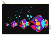 Colorful Fish Creation Carry-all Pouch
