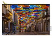 Colorful Floating Umbrellas Carry-all Pouch by Marco Oliveira