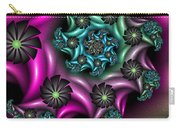 Colorful Fractal Carry-all Pouch
