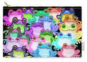 Colorful Frogs Carry-all Pouch