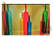 Colorful Glass Bottles Carry-all Pouch